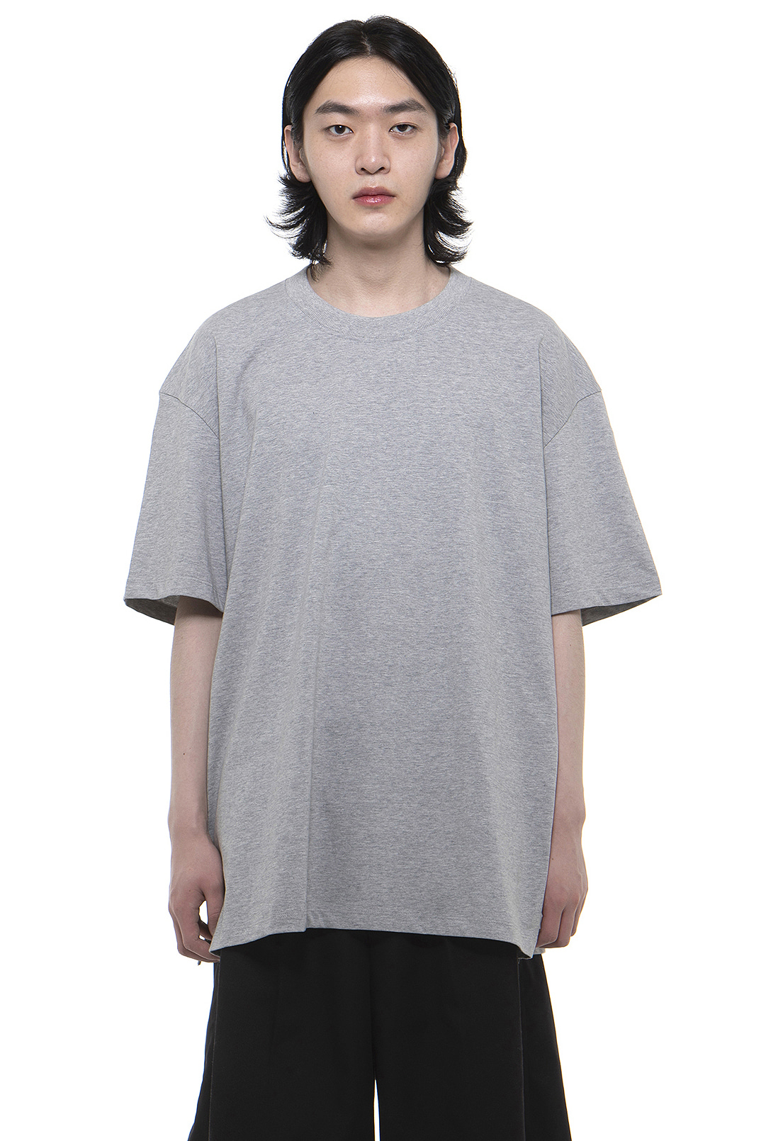 T001 / Cotton 100 Layered Grey T